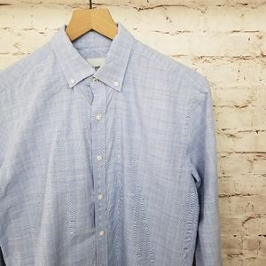 Ben Sherman Tailored Skinny Fit Button Down Shirt